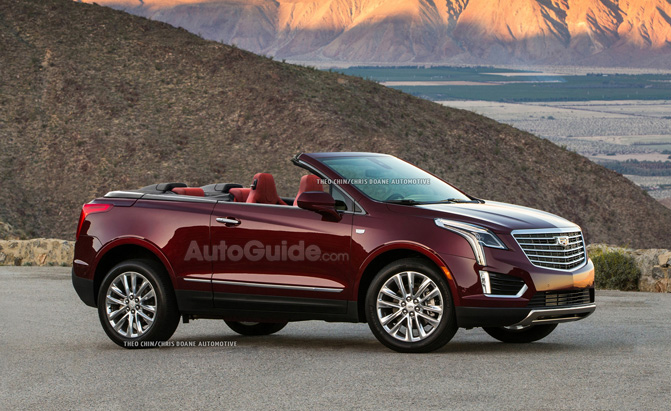 2016 Cadillac Convertible >> Love It Or Hate It Cadillac Xt5 Convertible Rendered