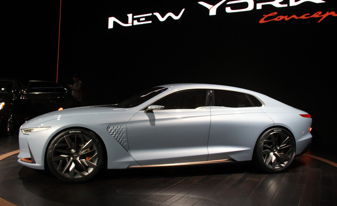 Genesis New York Concept Video First Look Autoguide News