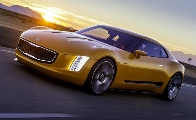 Kia Stinger Sports Car Hinted In New Trademark Filing