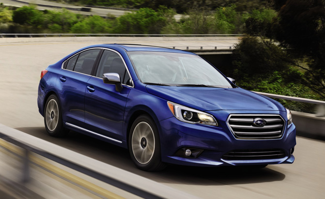 Subaru Outback Legacy Recalled For Steering Issue