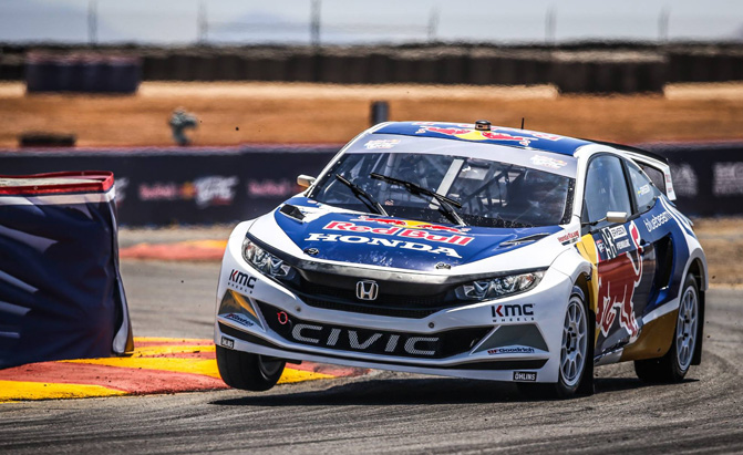 Grc Civic >> The Honda Civic Grc Race Car Can Fly Like No Civic Has Before
