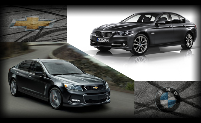 Chevrolet SS or BMW 5 Series