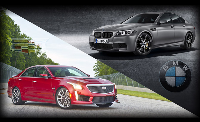 Cadillac CTS-V or BMW M5