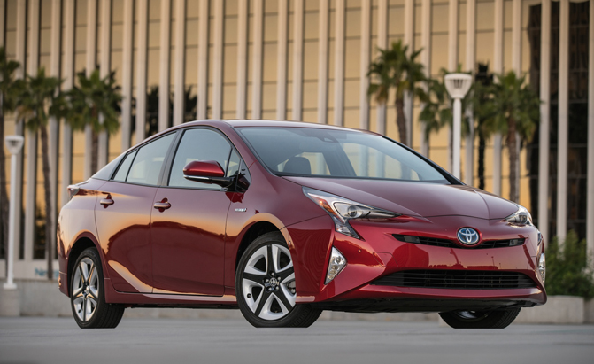 New Toyota Prius Hybrids Recalled Over Faulty Parking Brake