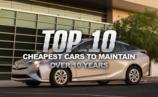Top 10 Est Cars To Maintain Over Years