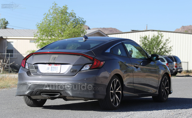 2018 Honda Civic Si Spy Photo-30