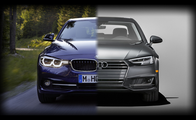 Audi A4 or BMW 3 Series
