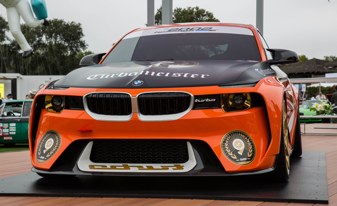 Bmw 2002 Hommage Looks Even Better In Orange And Black Autoguide