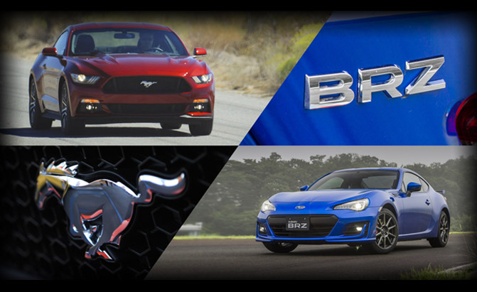 Subaru BRZ or Ford Mustang