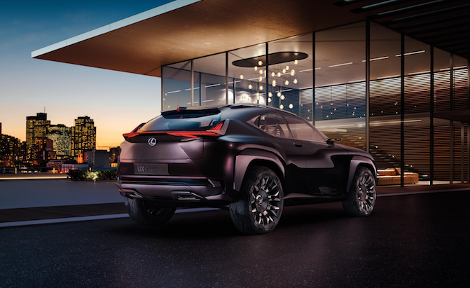 Lexus UX Concept Revealed from the Rear » AutoGuide.com News