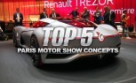 Top 5 Best Concept Cars from the 2016 Paris Motor Show