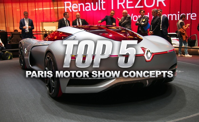 Top 5 Paris Motor Show Debuts