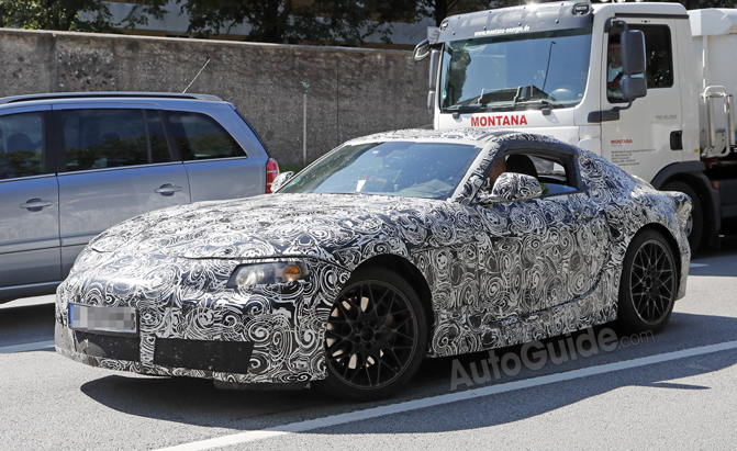New Toyota Supra Hits the Streets in First Spy Photos