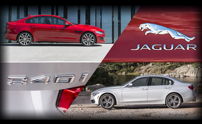 Jaguar XE 35t or BMW 340i