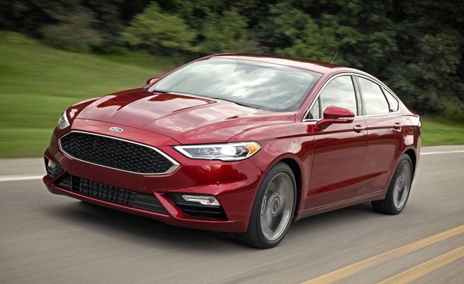 2017 Ford Fusion Sport 3/4 Front View