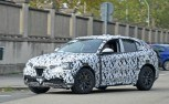 Alfa Romeo Stelvio Crossover Looks Ready for Debut in Spy Shots