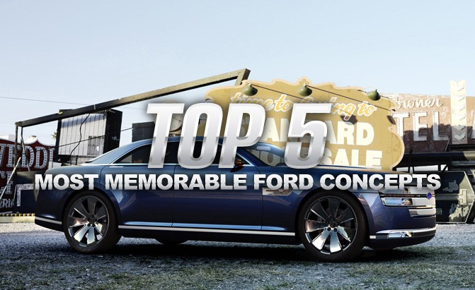 Top 5 Most Memorable Ford Concept Cars