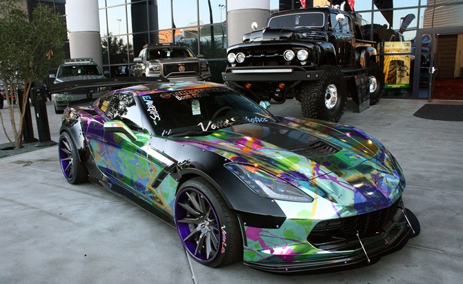 Car Paint Jobs >> Gallery Most Interesting Paint Jobs And Exterior Finishes At Sema