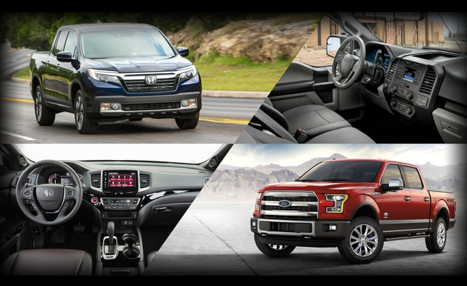 Honda Ridgeline or Ford F-150