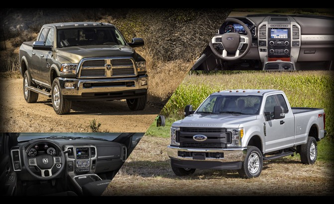 Ford F-350 or Ram 3500