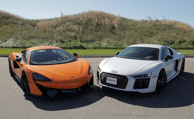 McLaren 570S vs Audi R8 V10 Plus-Comparison