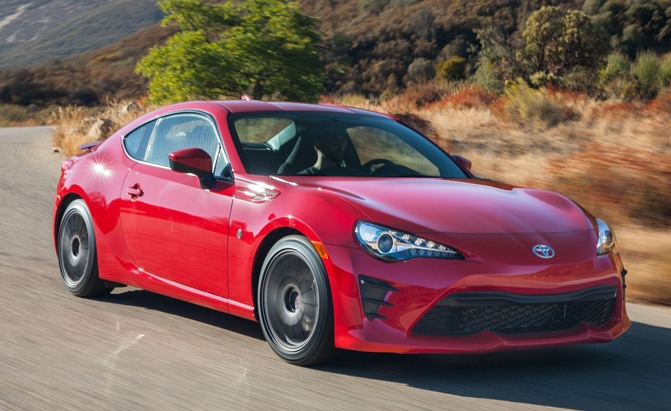 2018 Toyota 86 Adds Gt Trim For North America