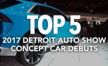 Top 5 Concept Car Debuts 2017 NAIAS