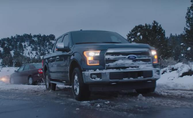 Bryan Cranston Voices Cute Ford Superbowl Ad