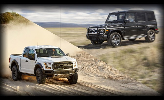 Ford F-150 Raptor or Mercedes-Benz G-Class