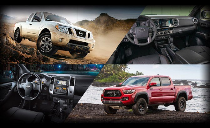 Toyota Tacoma or Nissan Frontier