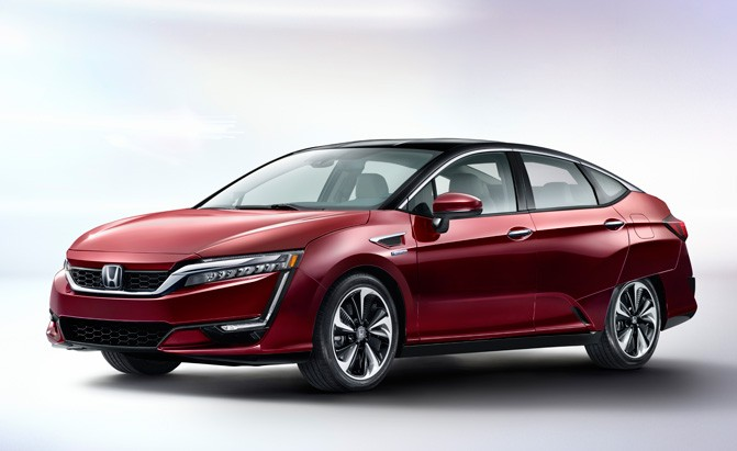 All Electric Honda Clarity Falls Short Of Compeion In The Range Department