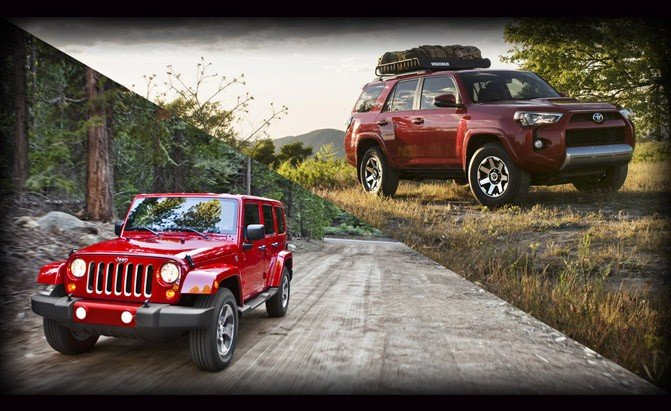Jeep Wrangler Unlimited or Toyota 4Runner