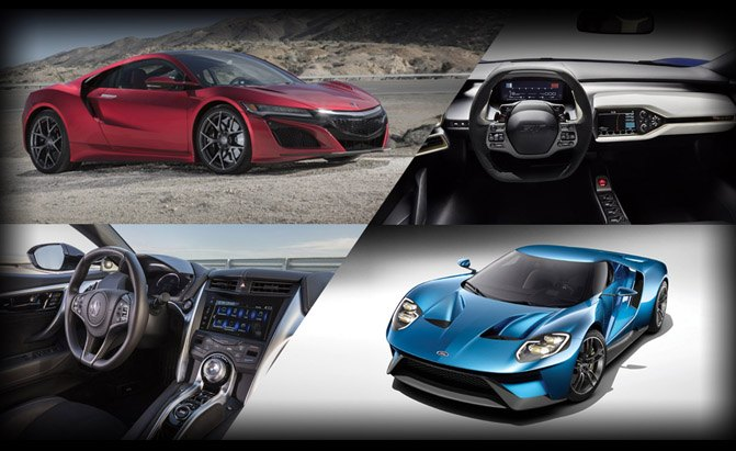 Poll Acura Nsx Or Ford Gt