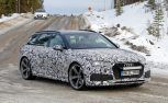 Audi RS4 Avant Spied Testing with Aggressive Styling