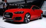 Audi Sport 2018 Audi RS5 Coupe at the 2017 Geneva Motor Show