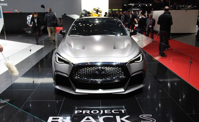 Infiniti Q60 Project Black S Concept Video First Look Autoguide