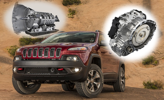 Transmission More Gears-Jeep Cherokee