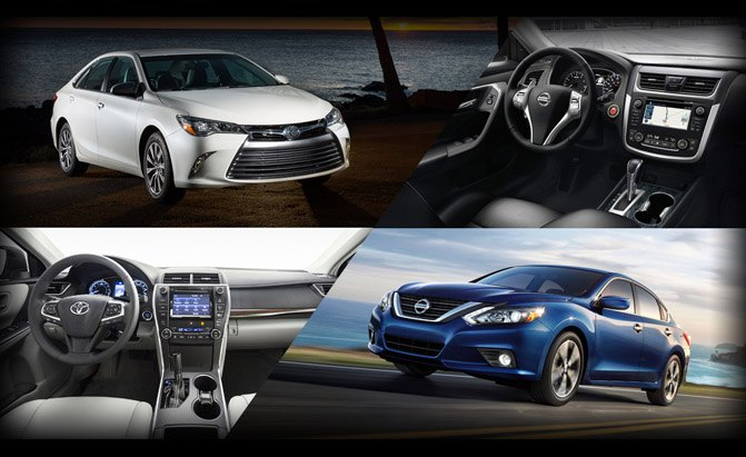 Poll: Nissan Altima Or Toyota Camry?