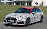 2018 Audi RS4 Avant Spied Testing Near the Nurburgring