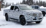 Mercedes Pickup Truck Sheds Some Camo for Spy Photographers
