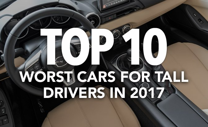 worst cars for tall drivers
