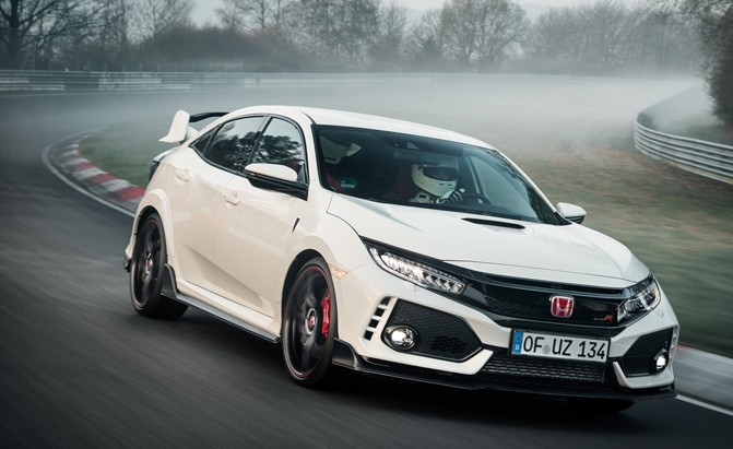Top 10 Cars The Honda Civic Type R Beats On Nurburgring Autoguide News