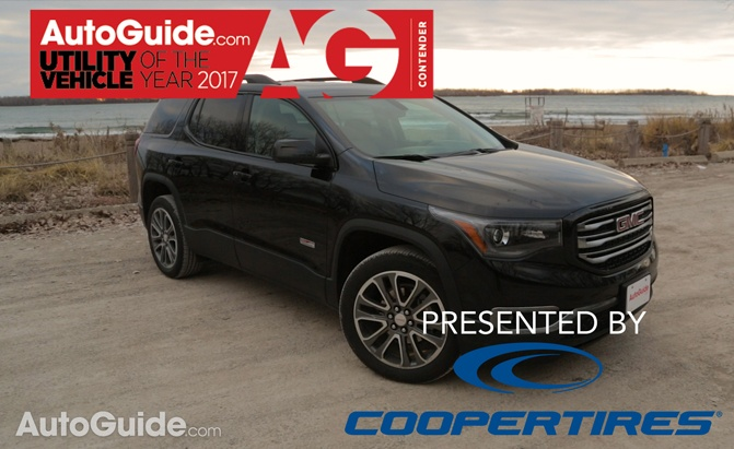 2017 GMC Acadia-AutoGuide Utility Vehicle of the Year Contender