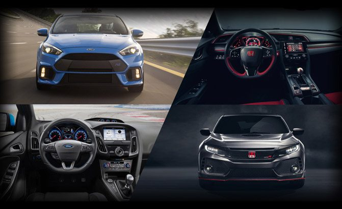 Ford Focus RS or Honda Civic Type R