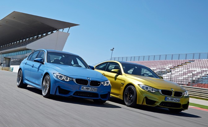 BMW models banned from track days