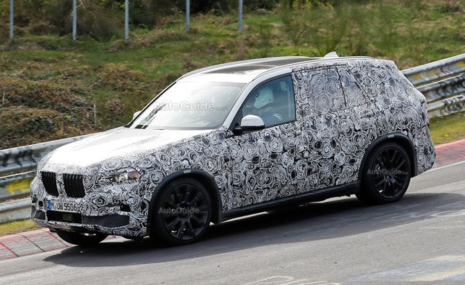 bmw x5 nurburgring spy photo