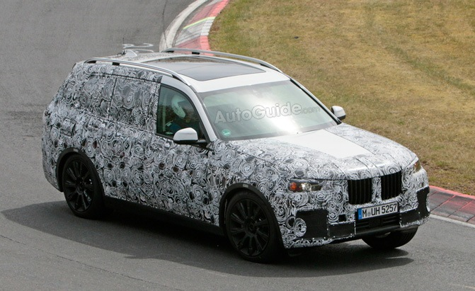 bmw x7 nurburgring spy photo