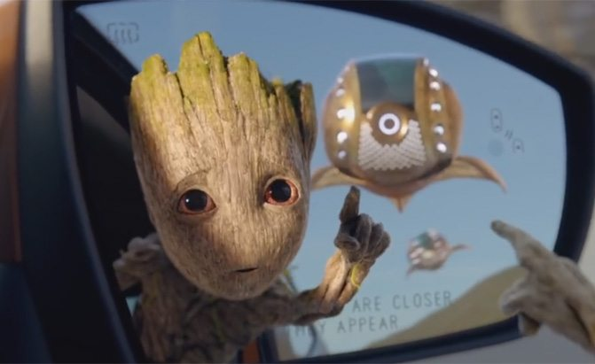 ford ecosport baby groot