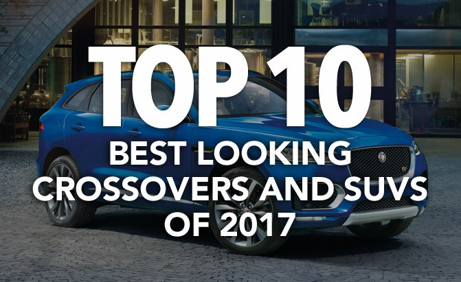 top 10 best looking crossovers and suvs of 2017