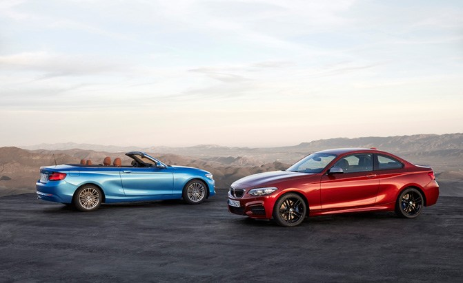 2018 bmw 2 series coupe and convertible